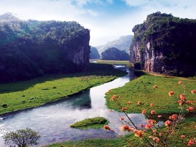 湄江风景区:国家地质公园 具有幼年期岩溶地貌发育特征和标志