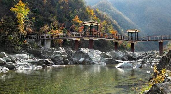 康县阳坝自然风景区 气候温润 景色秀丽