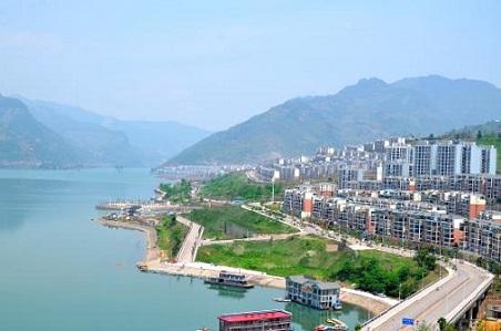 绥江入围2017年中国最美县城50强