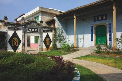 随着武功山名胜风景区大力开发和新农村建设,加快了东阳村发展村级