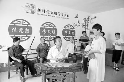 """广饶县""""枣木杠子乱弹"""":古老小调现代新唱"""