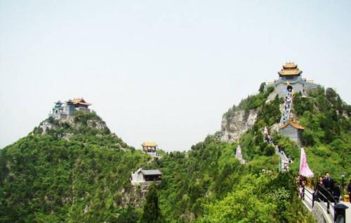 中国小康网 珏山风景旅游区位于晋城市泽州县丹河南岸,东至马鞍山